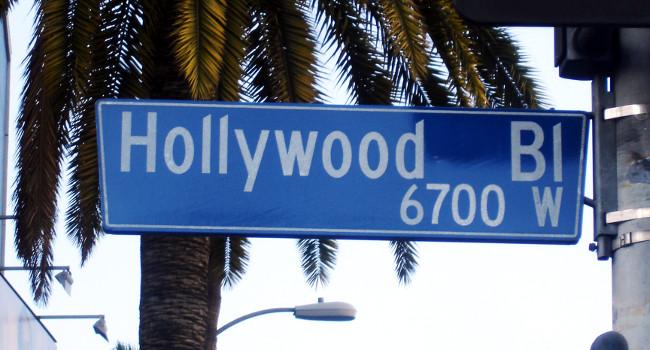 HollywoodBlvdStreetSign