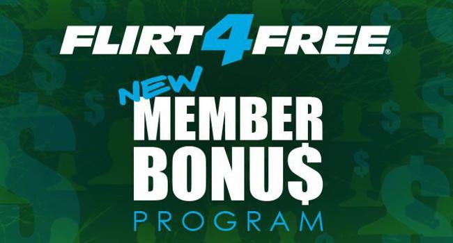 Flirt4Free Member Bonus Program
