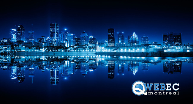 The 14th Qwebec Expo will bring webmasters from around the world together in Montreal Aug. 3-6.