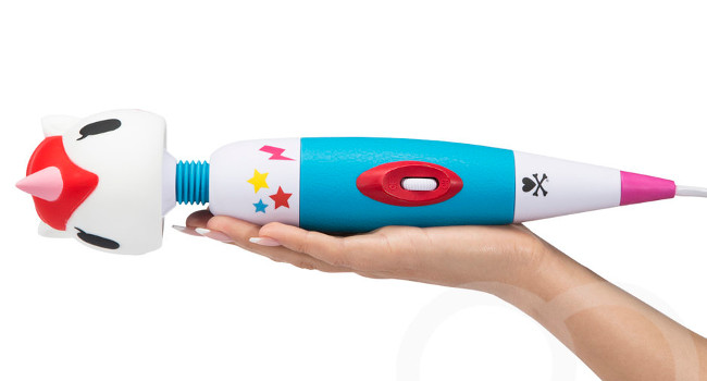 Unicorns have been spotted in the City of Light. One of Paris's preeminent erotic boutiques now carries the tokidoki X Lovehoney Unicorn Massage Wand.