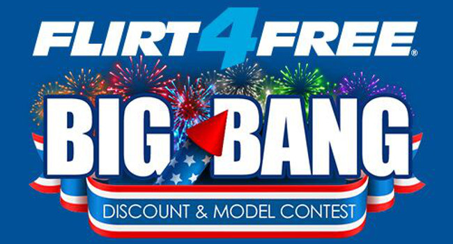 Flirt4Free will celebrate the U.S.'s 4th of July holiday with a contest offering cam models almost $10,000 in prizes.