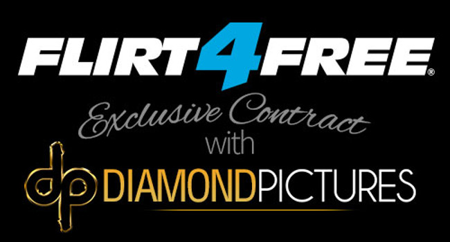 As part of the agreement, Diamond will receive its own channel on the Flirt4Free network and Diamond stars will be seen on-cam nowhere else.