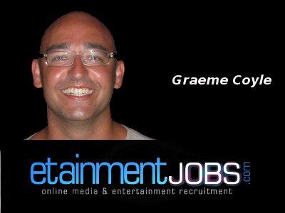 Graeme Coyle of etainmentjobs.com
