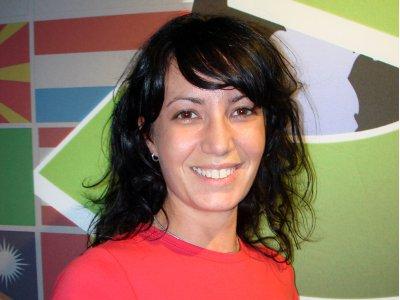 Cristiana Scolaro, the Italian sales representative for Epoch