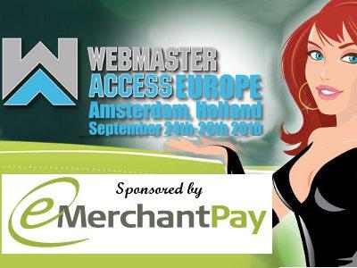 eMerchantPay at Webmaster Access Amsterdam